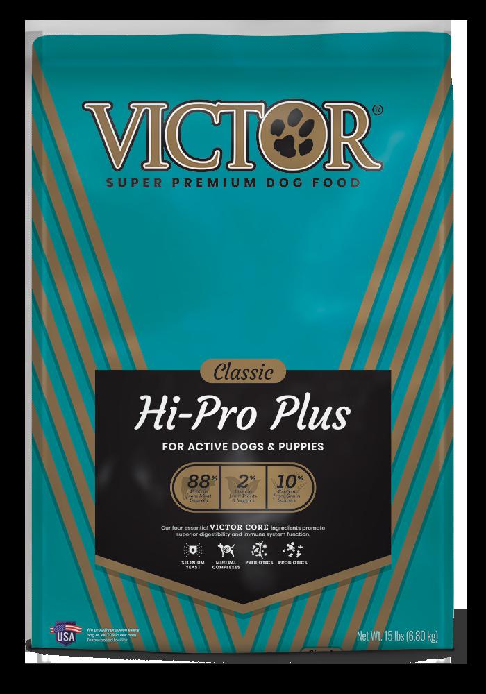 victor dog hi premium pet dry