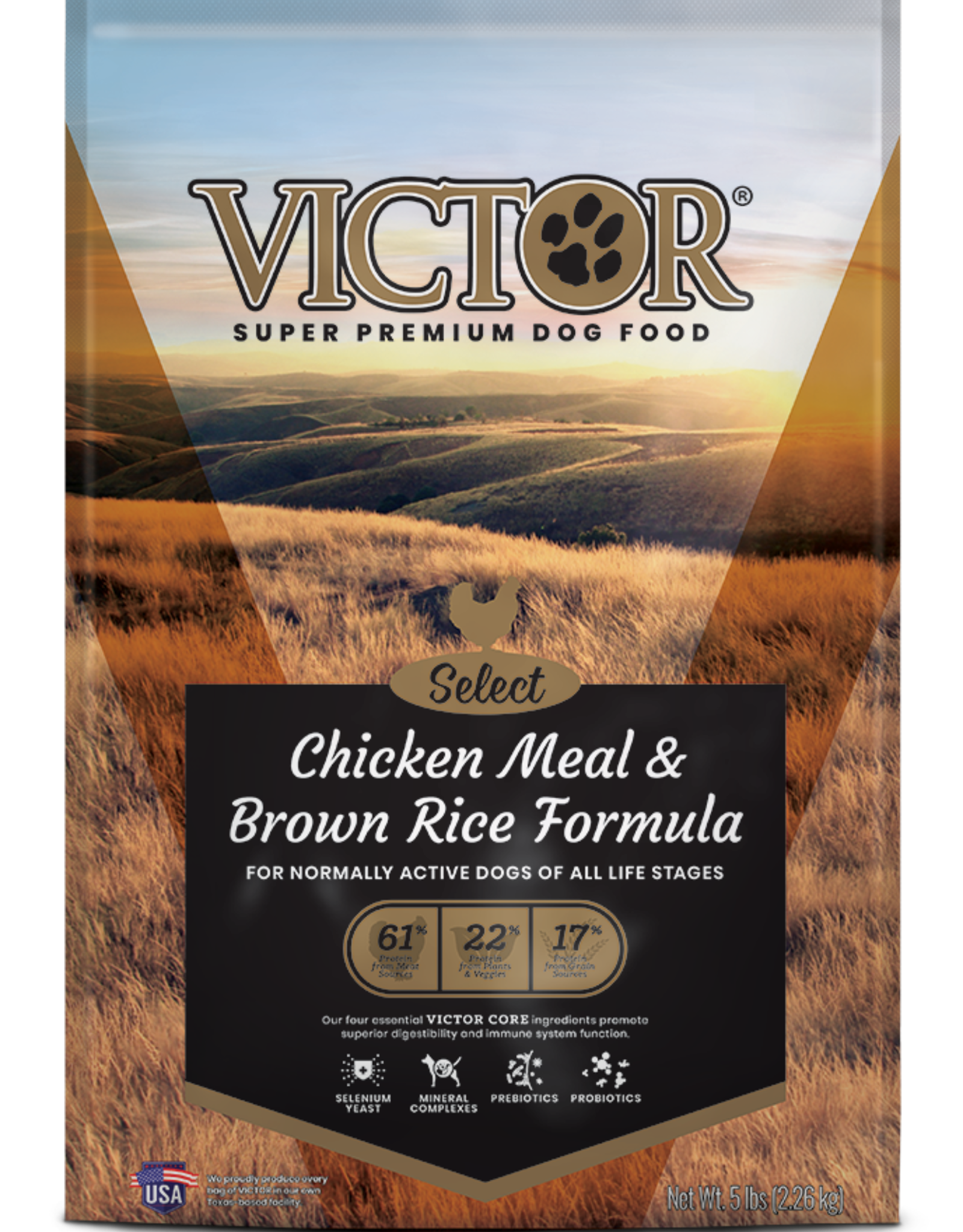 Victor Victor Dog Food Chicken Meal & Brown Rice