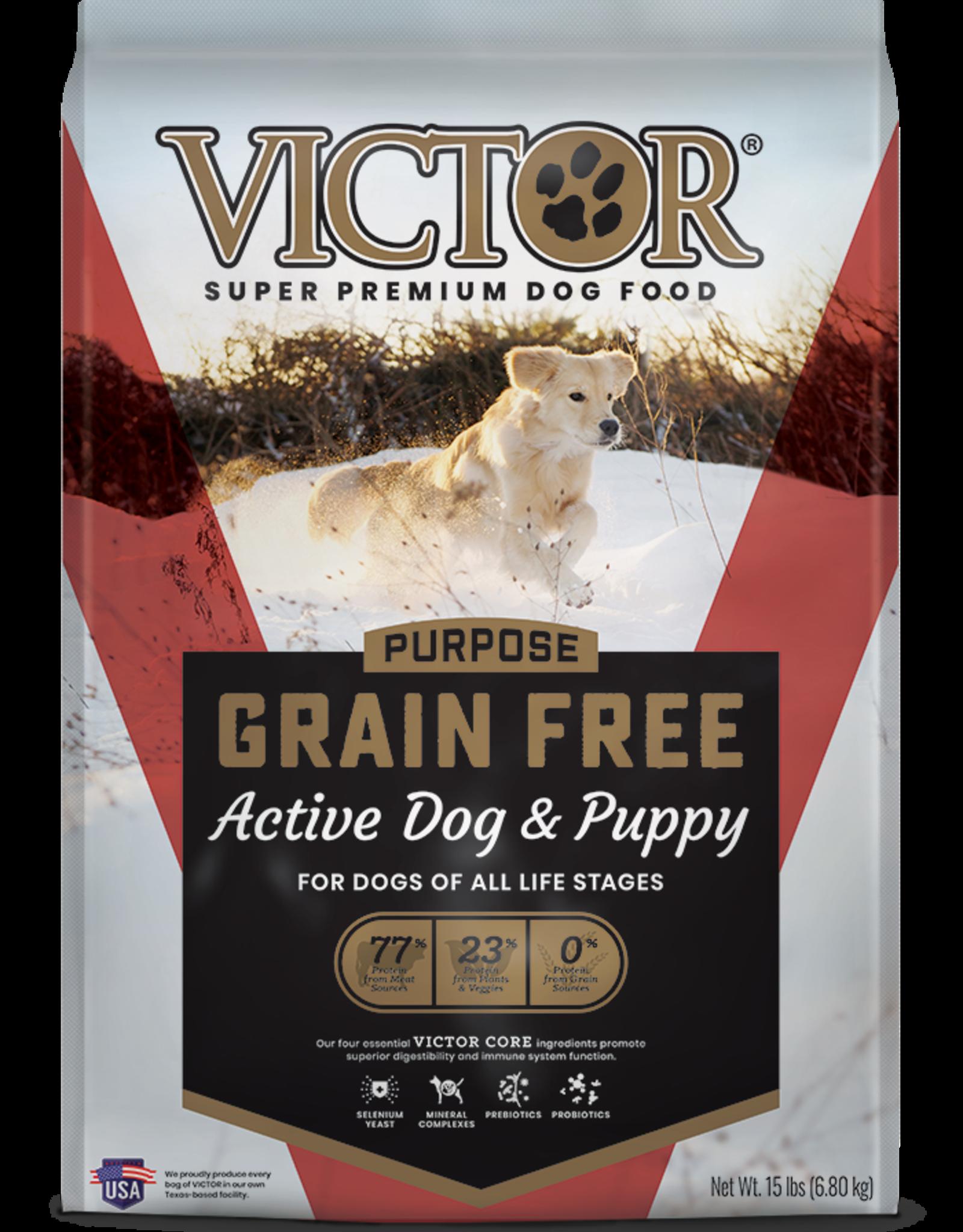 Victor Victor Grain Free Dog Food Active Dog & Puppy