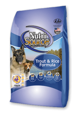 Nutrisource Dog Food Trout & Rice