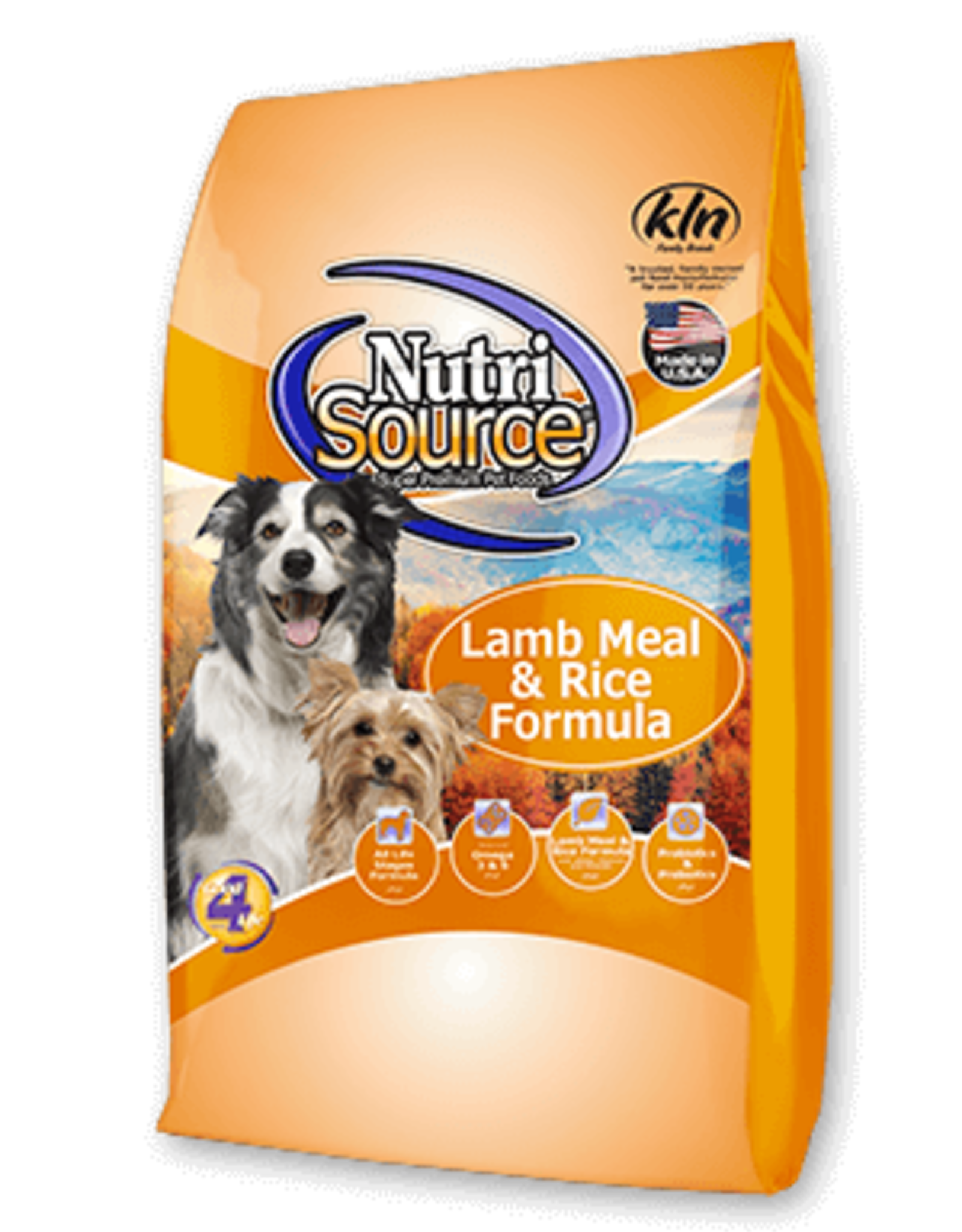 Nutrisource Dog Food Lamb & Rice