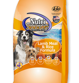 Nutrisource Dog Food Lamb & Rice