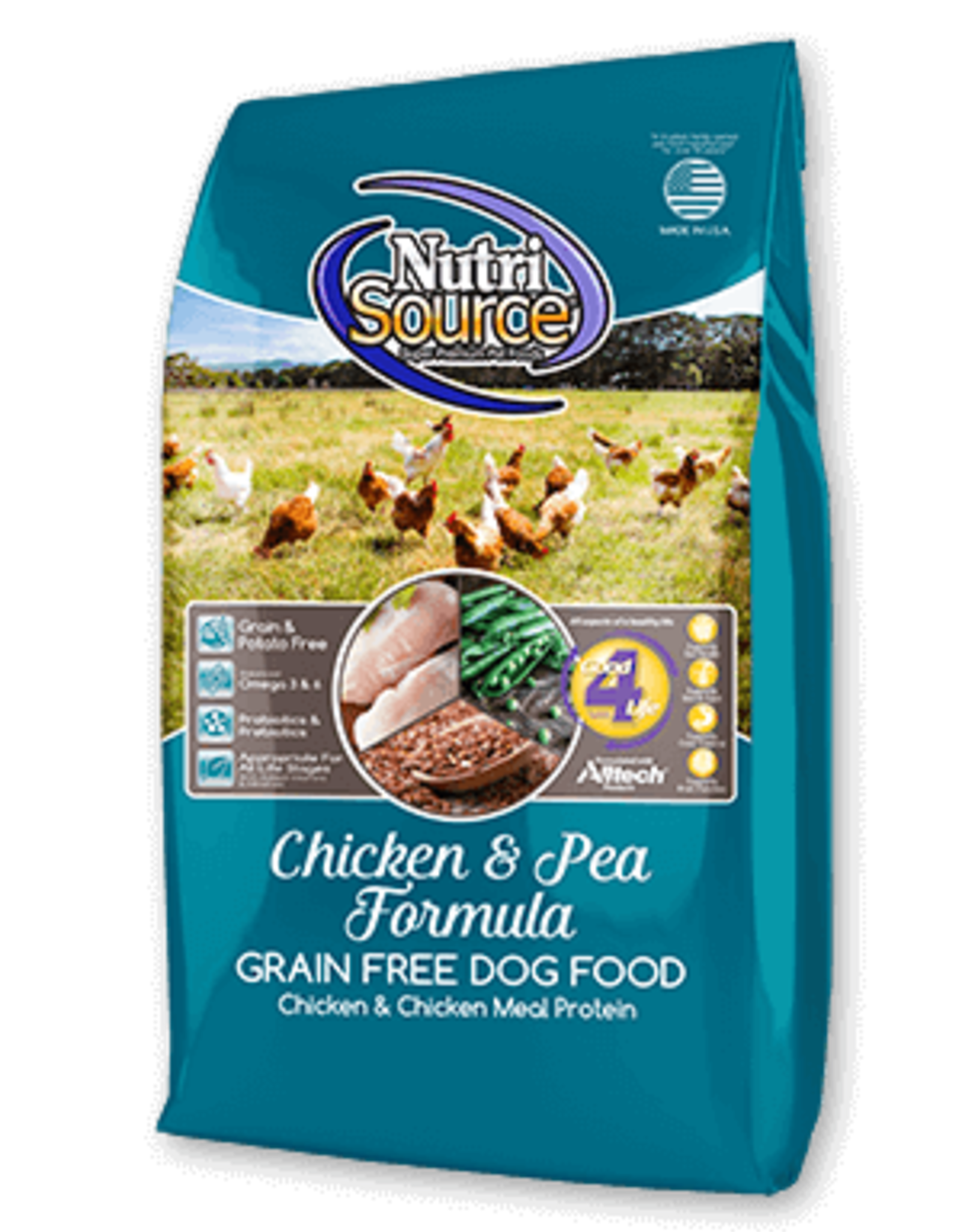 Nutrisource GF Dog Food Chicken & Pea
