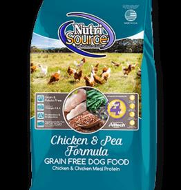 Nutrisource GF Dog Food Chicken & Pea