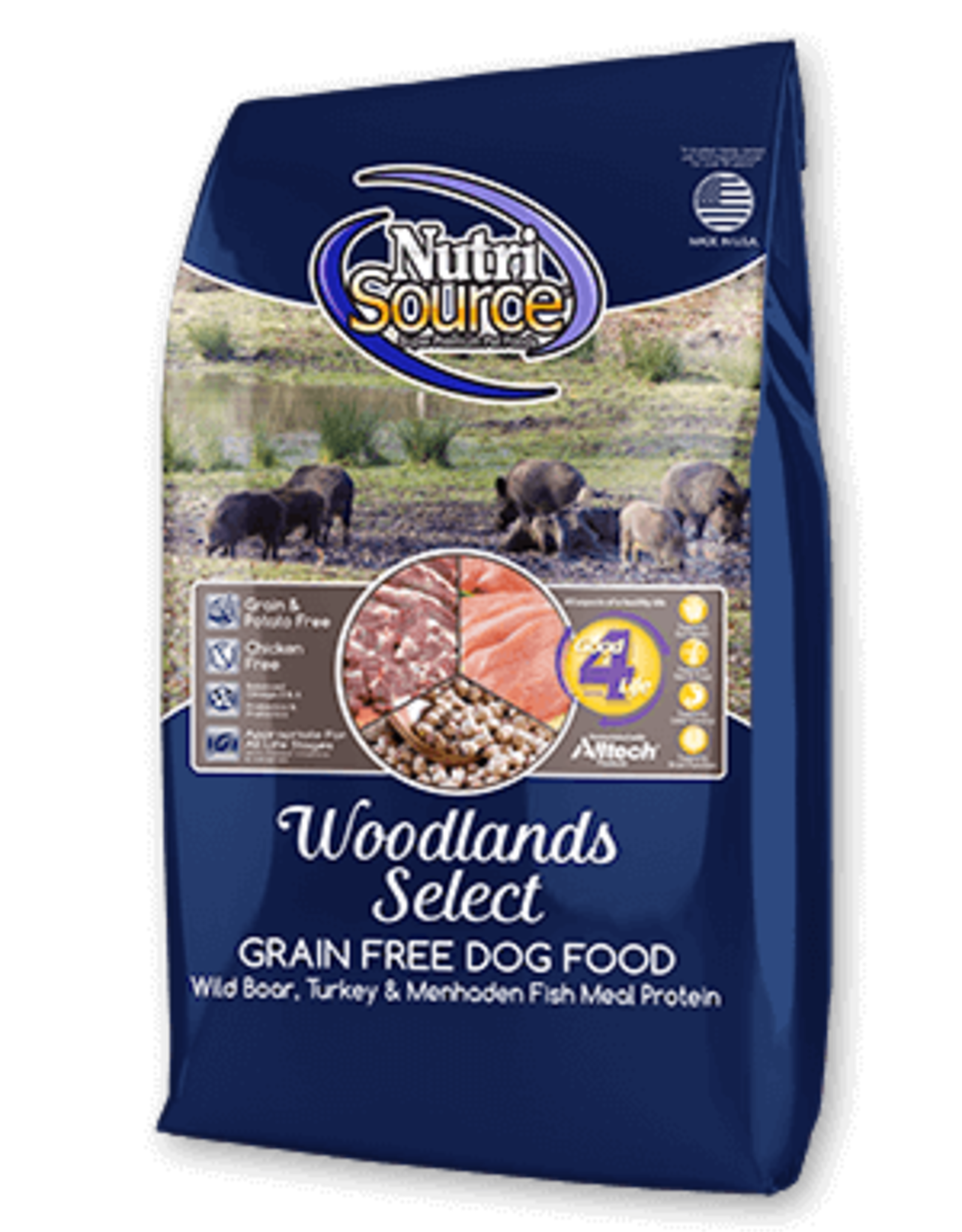 Nutrisource GF Dog Food Woodland Select