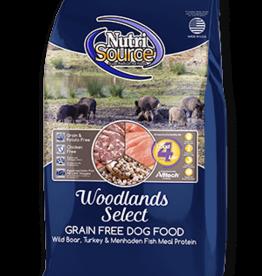 Nutrisource GF Dog Food Woodland Select