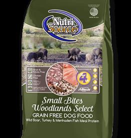 Nutrisource GF Dog Food Small Bites Woodland Select