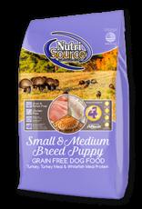 Nutrisource GF Dog Food Small/Medium Puppy