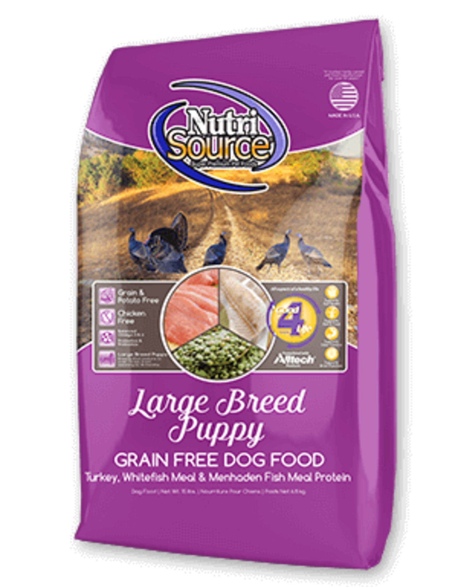 Nutrisource GF Dog Food Large Breed Puppy