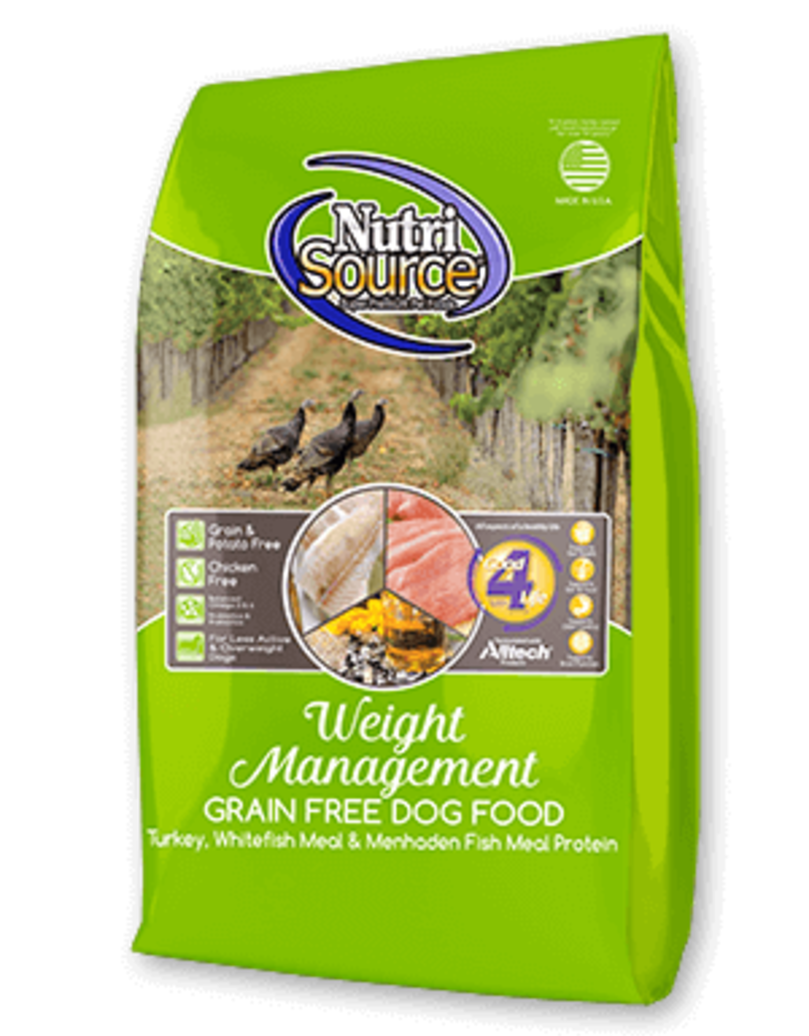 Nutrisource GF Dog Food Weight Management