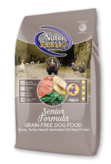 Nutrisource GF Dog Food Senior