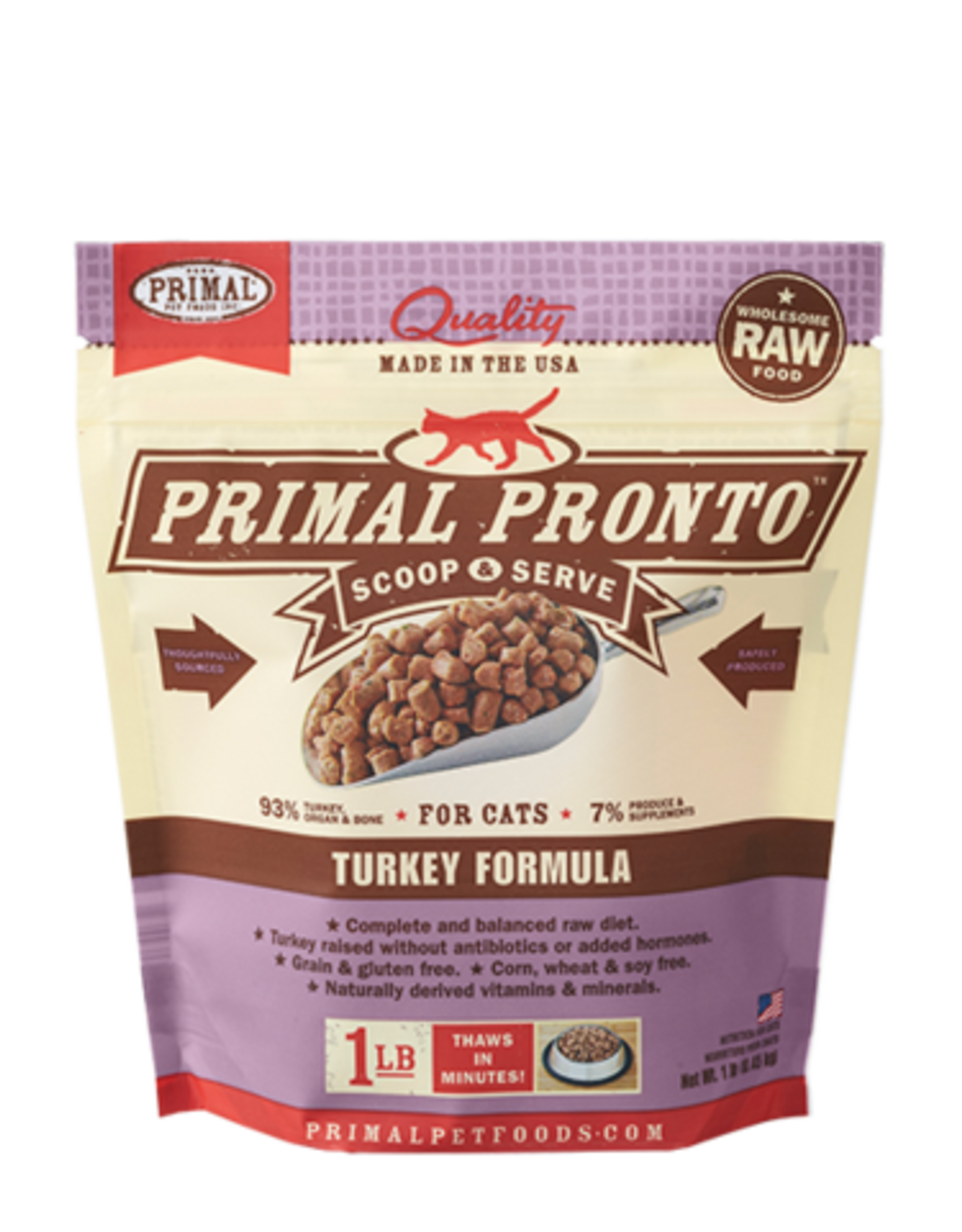 Primal Frozen Feline Raw Pronto