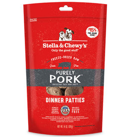 Stella & Chewy's Stella & Chewy's Freeze Dried Raw Dog Pork Patties