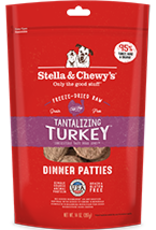 Stella & Chewy's Stella & Chewy's Freeze Dried Raw Dog Turkey Patties