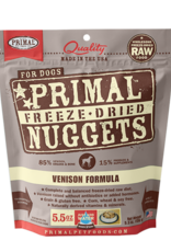 Primal Freeze Dried Raw Dog Food Venison Formula