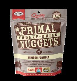 Primal Freeze Dried Raw Dog Food Venison Formula