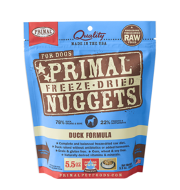 Primal Freeze Dried Raw Dog Food Duck Formula