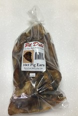 Pet Deli Pig Ears 10ct
