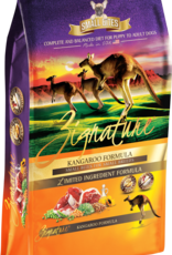 Zignature Zignature Dog Food Kangaroo Formula Small Bites