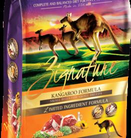 Zignature Zignature Dog Food Kangaroo Formula Small Bites