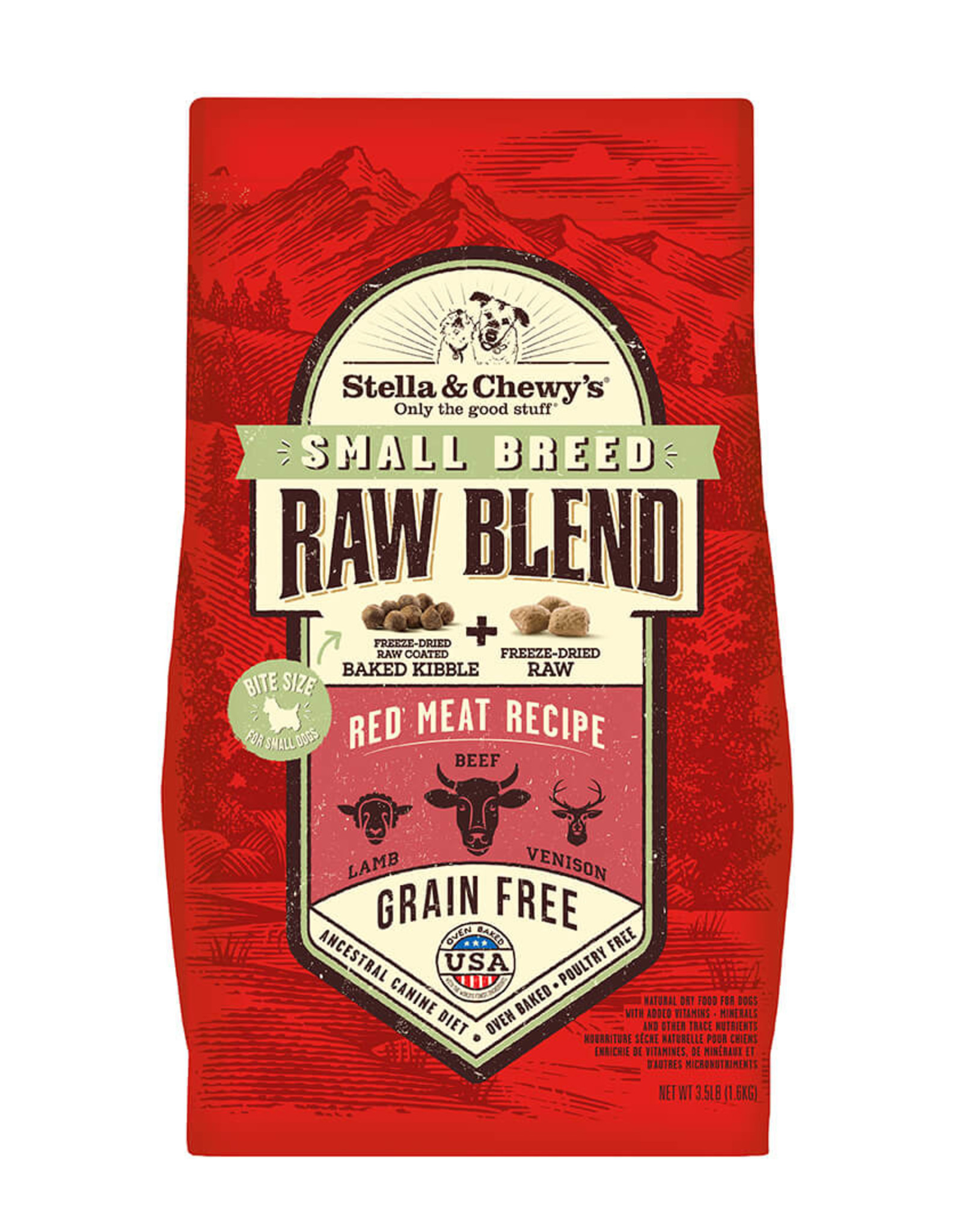Stella & Chewy's Stella & Chewy's Red Meat Small Breed Raw Blend Kibble