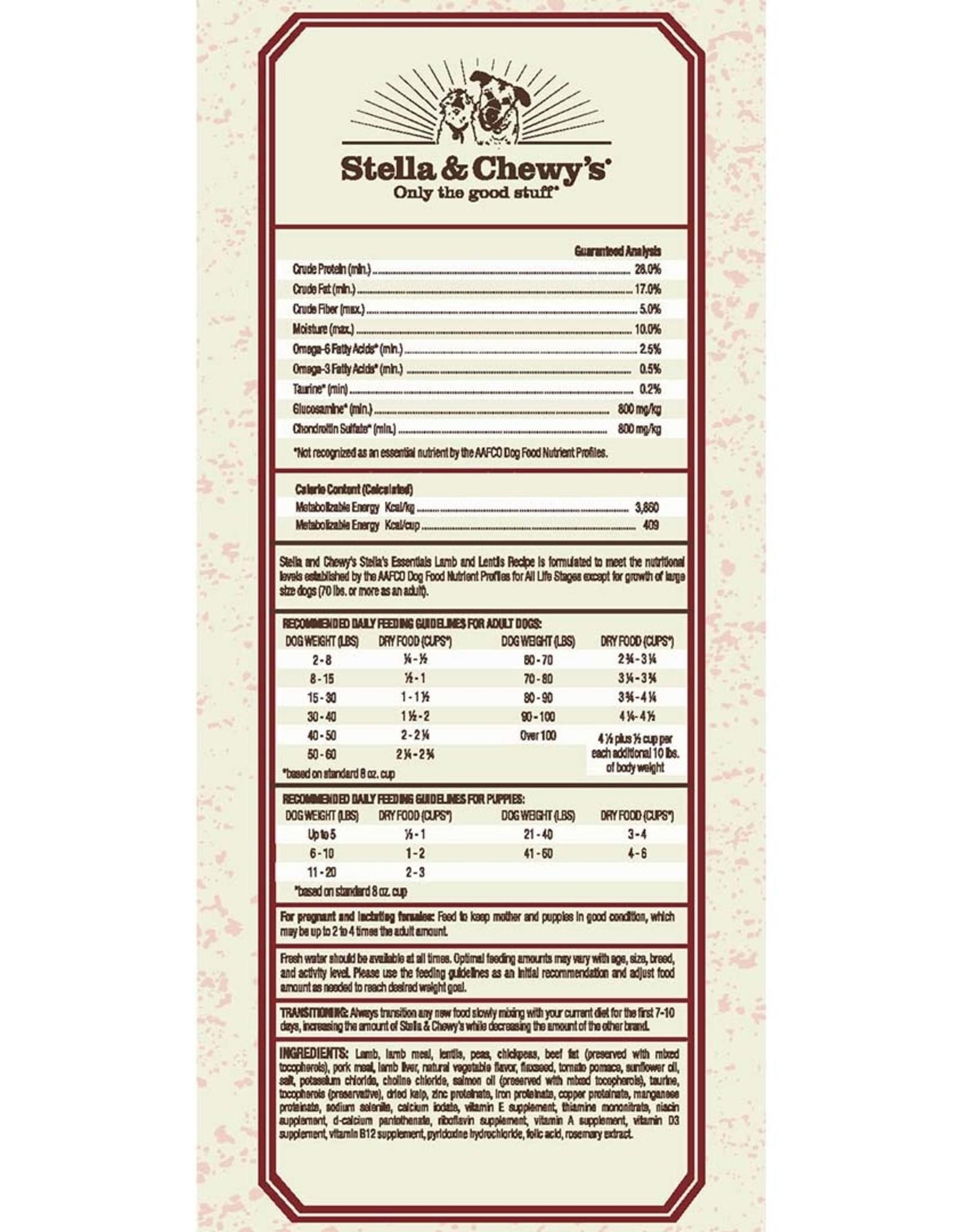 Stella & Chewy's Stella & Chewy's Lamb & Lentils Essentials