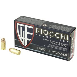 Fiocchi Ammunition Fiocchi 380acp 95gr FMJ 50rnd