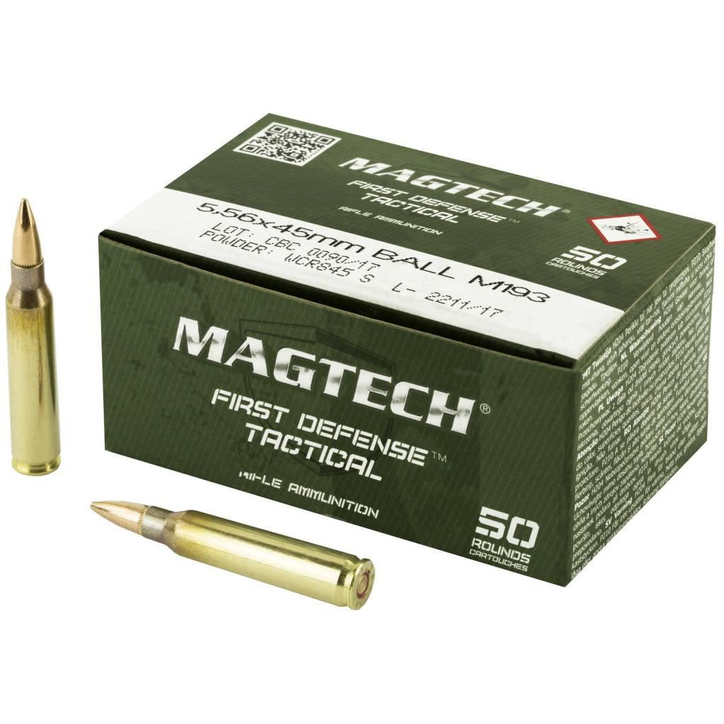 Magtech Magtech First Defense Tactical 556nato 55gr FMJ 50rnd