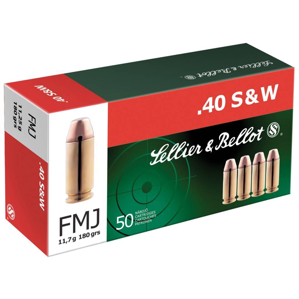 Sellier & Bellot Sellier & Bellot 40S&W 180 Grain fmj