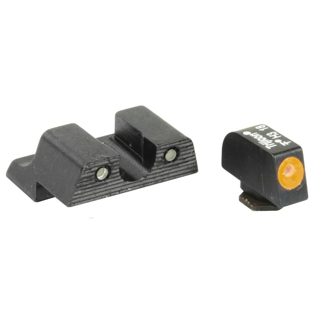 Trijicon Trijicon HD Night Sights Orange Front HD Glock 42 and 43