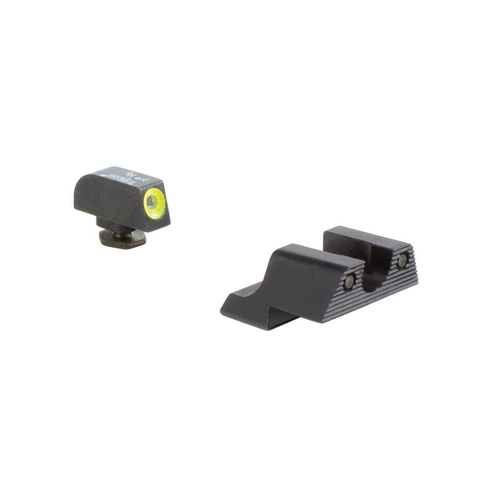 Trijicon TRIJICON HD NS FOR Glock 42 YLW FRONT