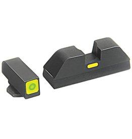 Ameriglo AmeriGlo GREEN LUMI SQUARE Glock