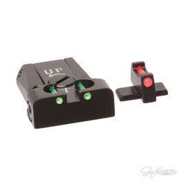 LPA Sig Sauer Springfield FIBER OPTIC ADJUSTABLE SIGHT SET P229, XD