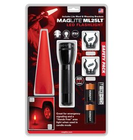 Mag-Lite MAGLITE® ML25LT™ LED Flashlight Safety Pack