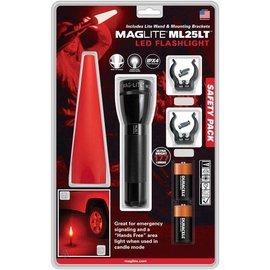 Mag-Lite MAGLITE® ML25LT™ LED Flashlight Safety Pack