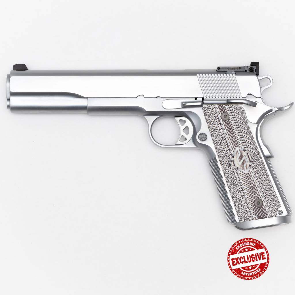 Fusion Fusion Firearms Pro Custom 1911 10mm Chrome Finish