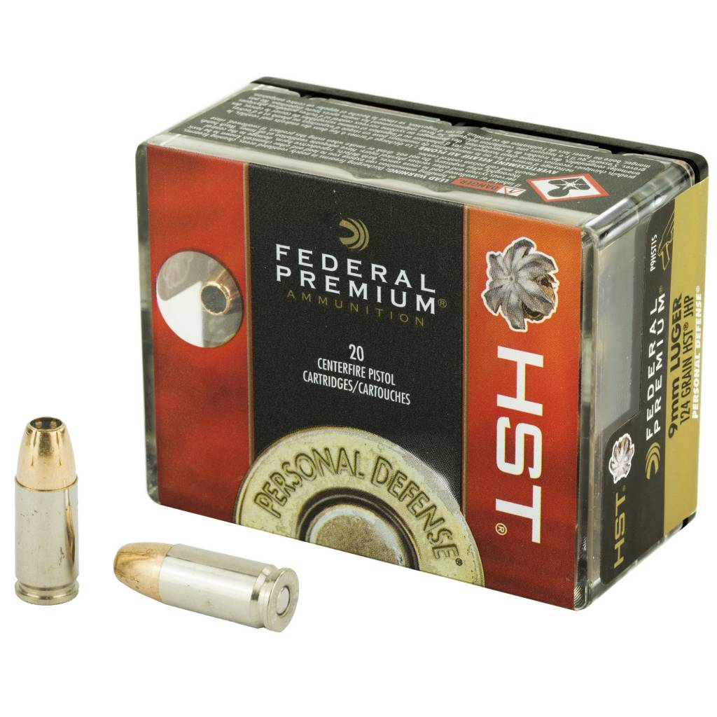 Federal Federal HST 124gr 9mm 20RD
