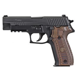 """Sig Sauer Sig Sauer P226 9mm Single/Double 4.4"""" 15+1 Brown G10 Grips"""
