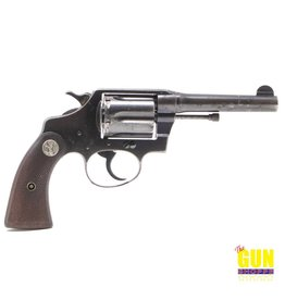 Colt Manufacturing Used Colt Poilce Positive 38spl 4 inch