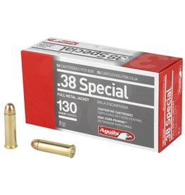 Aguila Ammunition Aguila 38spl 130grn 50rnd