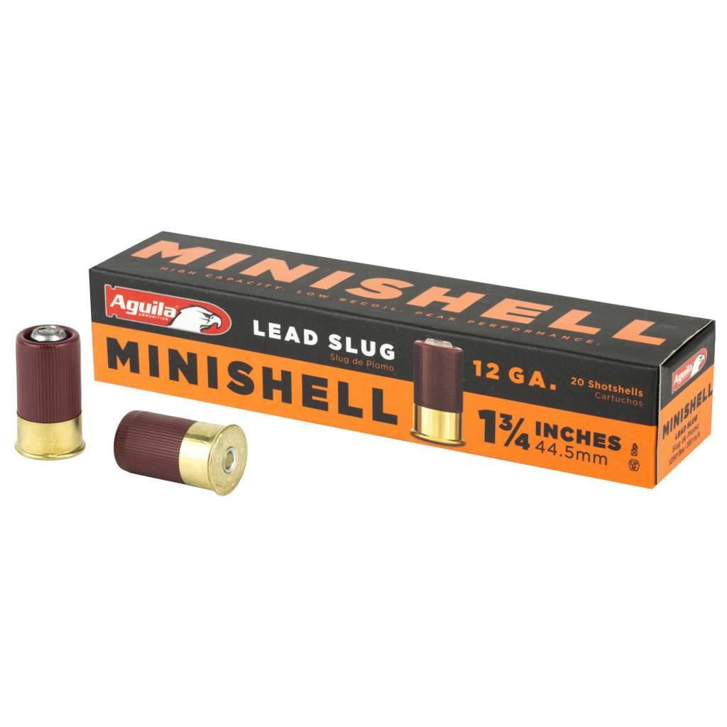 Aguila Ammunition Aguila 12 Minishell Slug 20rnd