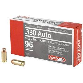 Aguila Ammunition Aguila 380acp 95gr fmj 50rd