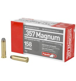 Aguila Ammunition Aguila 357 Magnum 158 GR Semi-Jacketed Hollow Point 50Bx