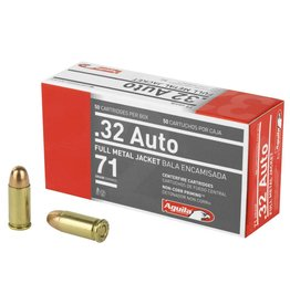 Aguila Ammunition Aguila 32ACP 71GR FMJ AGUILA MS