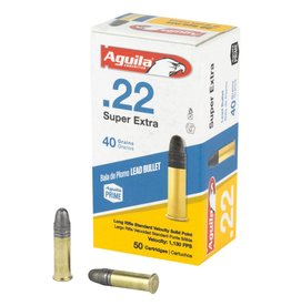 Aguila Ammunition Aguila 22LR Standard Velocity SP 40gr Lead 50rnd