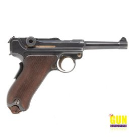 Used Luger DWM 9mm  French Comm Contract