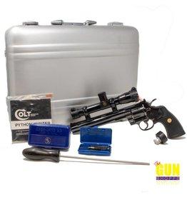 Colt Manufacturing Used Colt Python Hunter 357 8 inch Pachmyer Colt/Leupold s