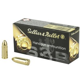 Sellier & Bellot Sellier & Bellot 9mm, 115gr, FMJ 50rnd