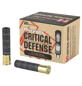Hornady Hornady Critical Duty 410 Triple Defense FTX Slug & Two Round Balls 20rnds