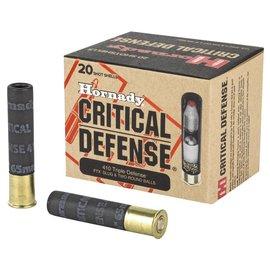 Hornady Hornady Critical Duty 410 Triple Defense FTX Slug & Two Round Balls 20rnds